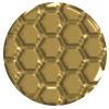 975 | Structure-Gold (Honeycomb)