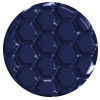 975   Structure-Middle Blue (Honeycomb)