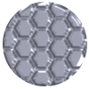 975 | Structure-Silver (Honeycomb)
